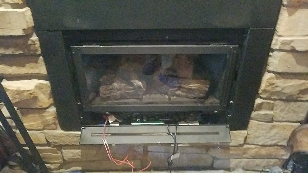 Lone Tree, CO - Performed replacement for blower and remote on Heat n Glo gas fireplace insert