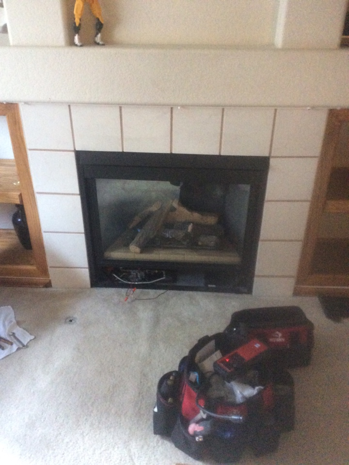 Henderson, CO - Heat n glo gas fireplace wouldn't turn on.