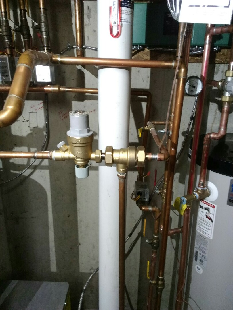 Arvada, CO - Replace Fill valve and back flow preventer on boiler system
