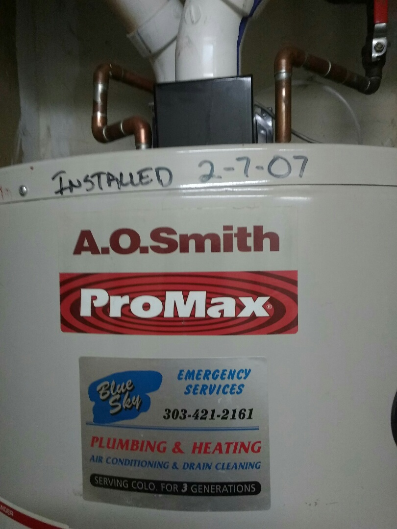 Wheat Ridge, CO - Water heater repair