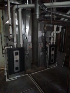 Golden, CO - High efficient furnace and AC installation.