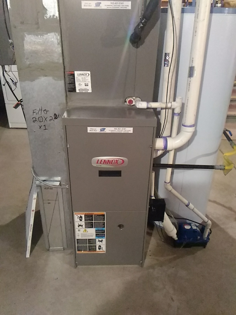 Arvada, CO - Lennox furnace cleaning
