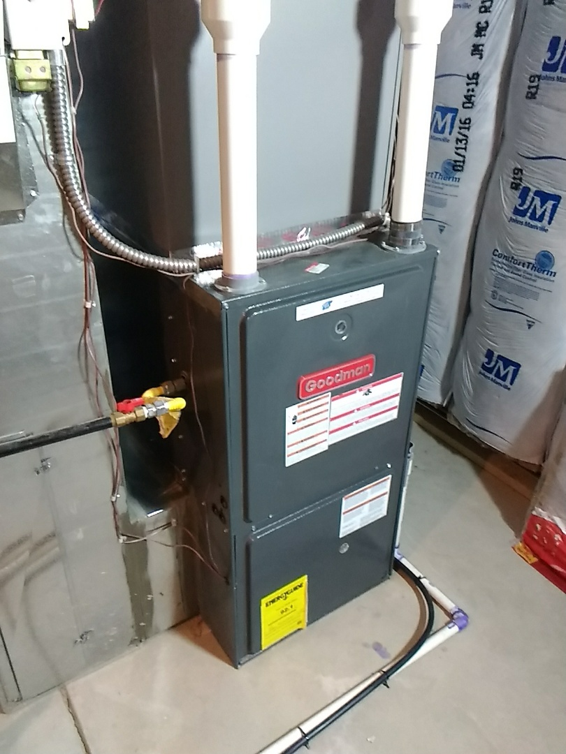 Arvada, CO - Goodman furnace tune and clean
