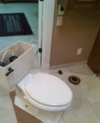 Littleton, CO - Remove and reset toilet