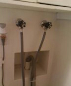 Lakewood, CO - Washing machine hose faucets replaced