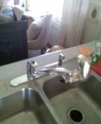 Littleton, CO - Kitchen faucet replacement it's good that you have family likes to do things