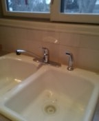 Lakewood, CO - Wolverine Brass kitchen faucet installation