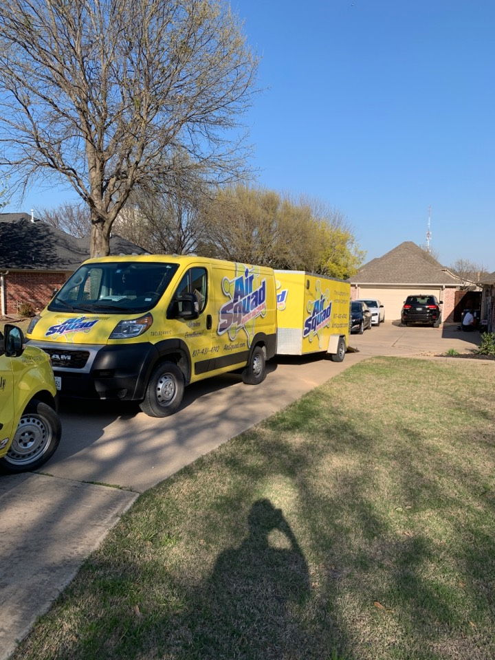 Keller, TX - Another a/c unit installed with Air Squad Excellence!