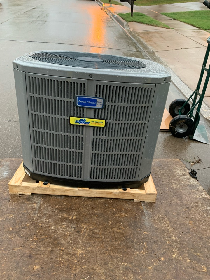 Fort Worth, TX - American Standard heat pump system