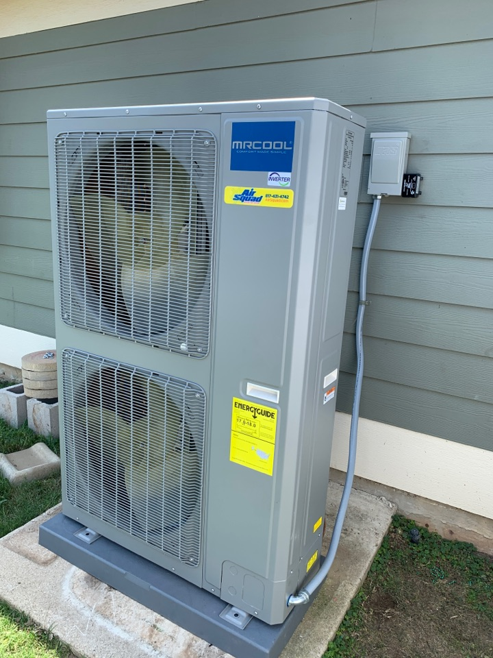 Fort Worth, TX - Mr. Cool a/c unit.  Installed with Air Squad Excellence!