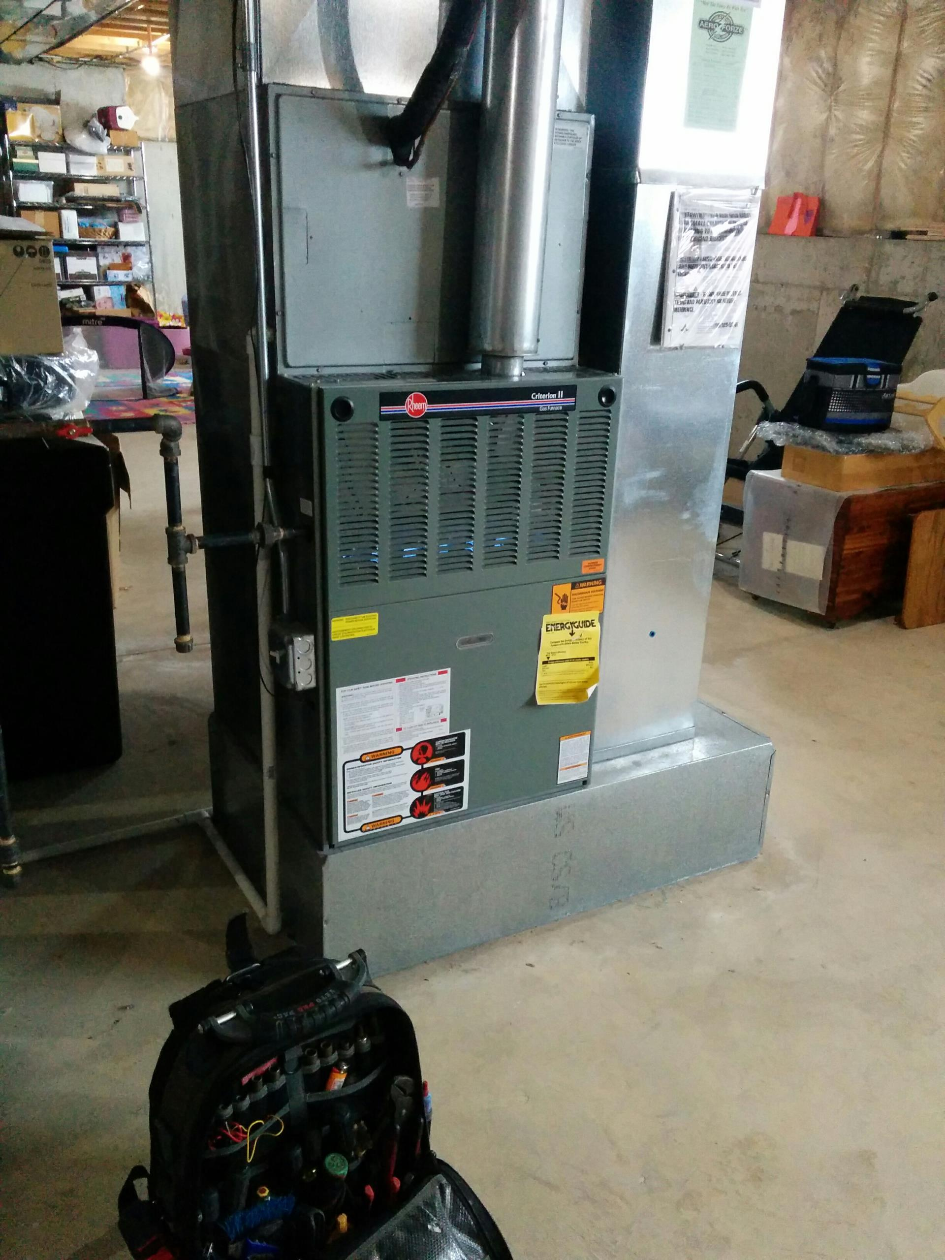 Lake Barrington, IL - Furnace tune up and safety inspection