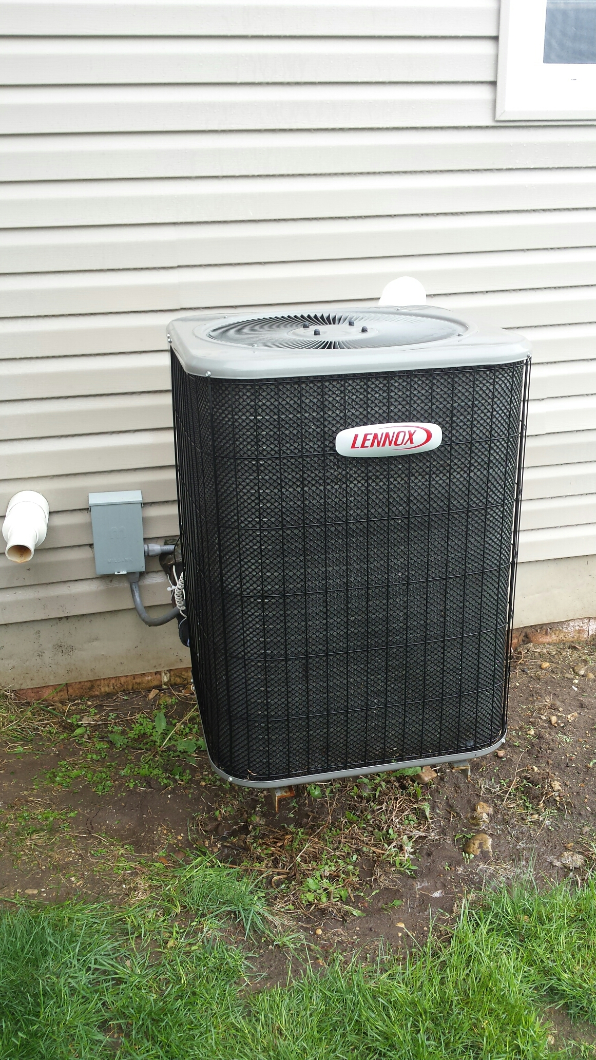 Evansville, WI - AC maintenance on a Lennox