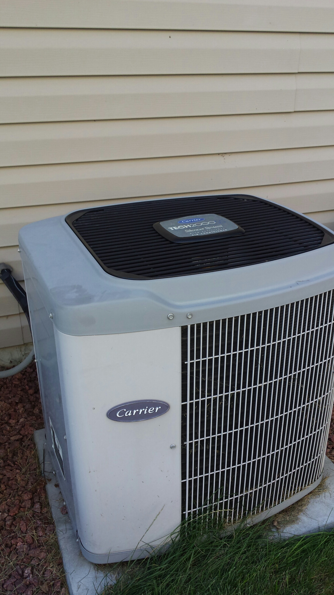 Madison, WI - Furnace and AC maintenance on a carrier system