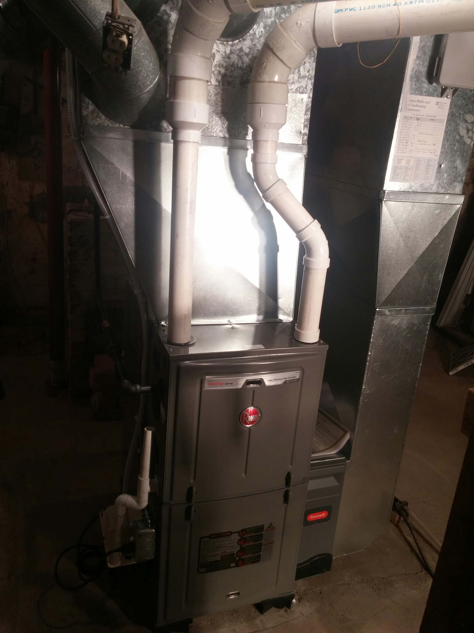 Iola, WI - Install new furnace