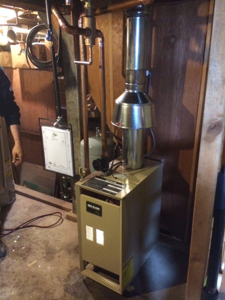 Waupun, WI - New boiler