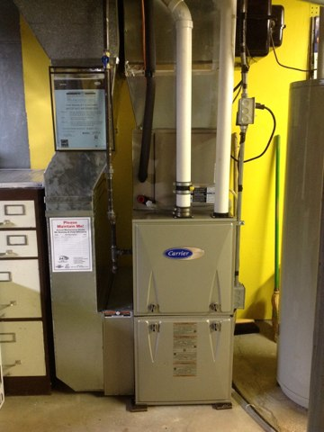 Monroe, WI - Furnace check new install