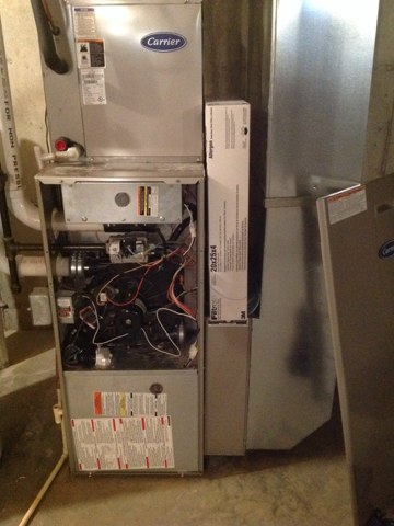 Lake Geneva, WI - Furnace inspection for a club member