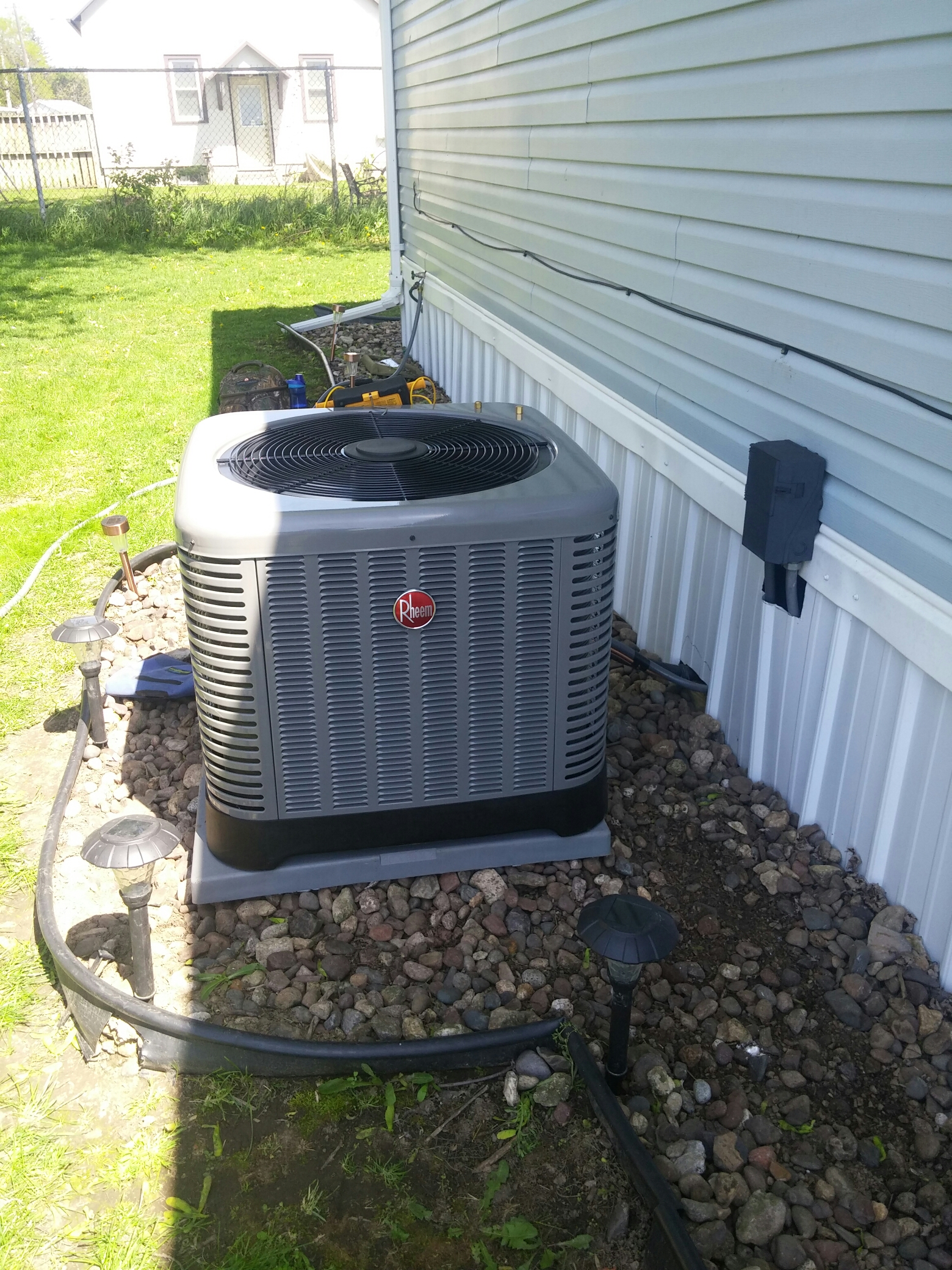 Hazel Green, WI - Install new furnace and a.c. units
