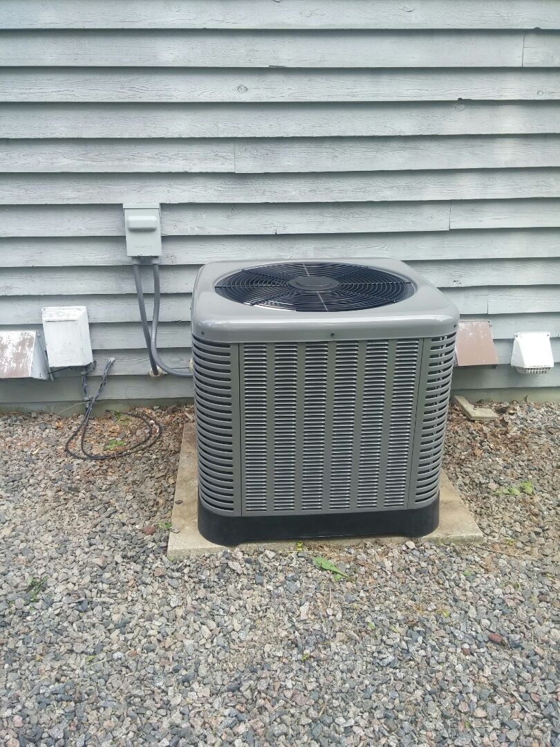 Theresa, WI - Install new air conditioning unit