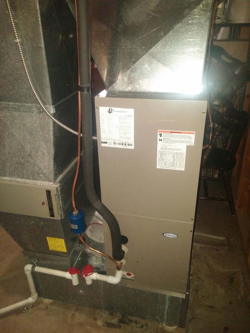 Monroe, WI - Install new air conditioning unit