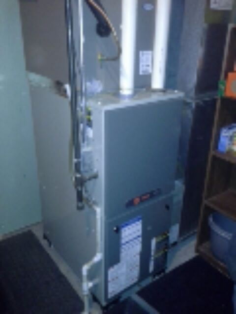 Brodhead, WI - maintenance on a trane furnace  found everything working well.