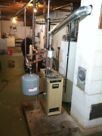 Watertown, WI - New Boiler install