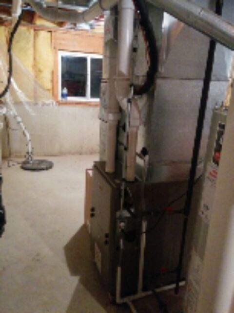 Gilberts, IL - finished emergency furnace change out