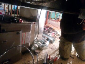 Spring Grove, IL - fixing a furnace in a  wonderful crawlspace.