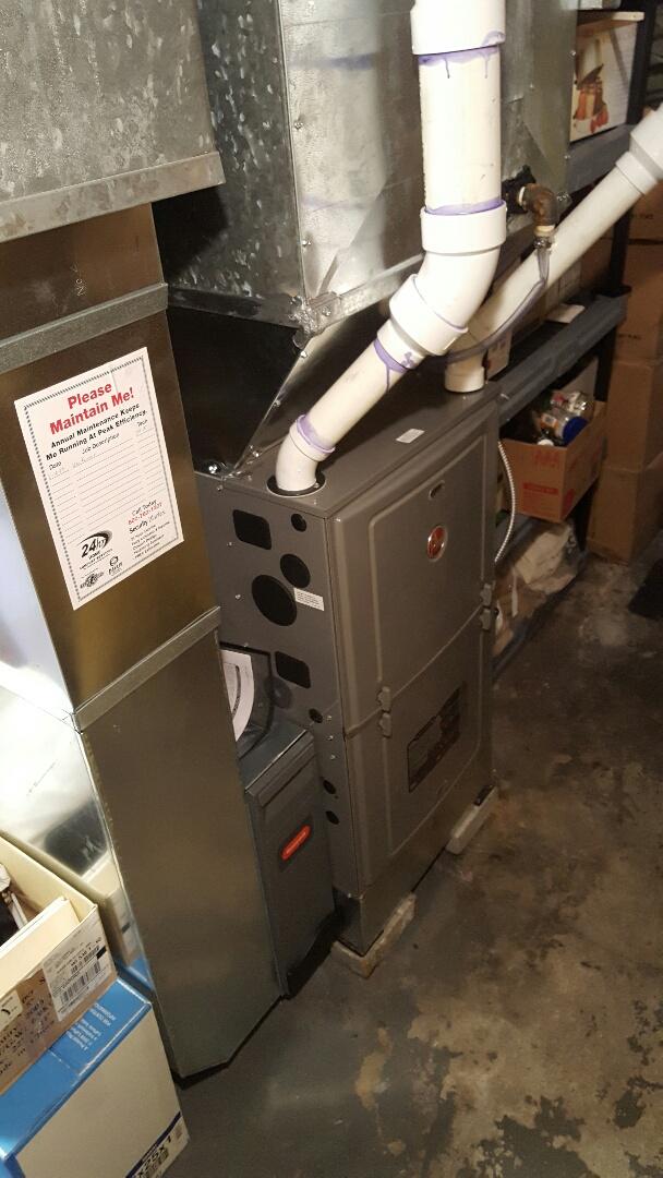 Beaver Dam, WI - Installed new furnace.