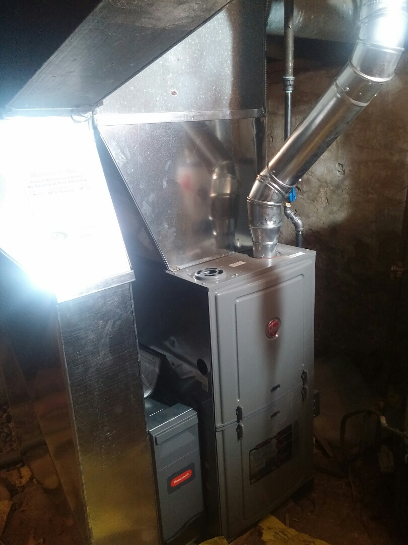 Milton, WI - Install new furnace