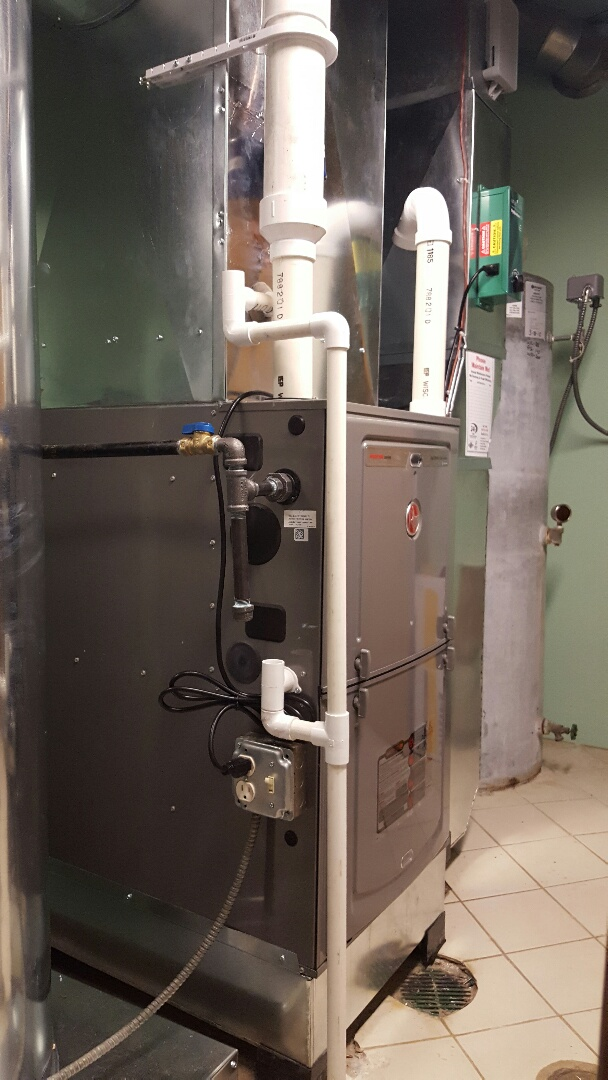 Kildeer, IL - New furnaces and uv purification systems installed