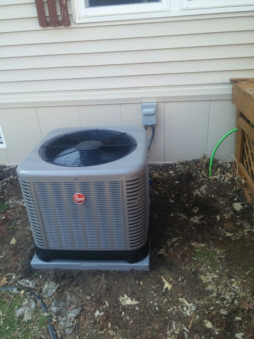 Janesville, WI - Install new furnace and a.c.