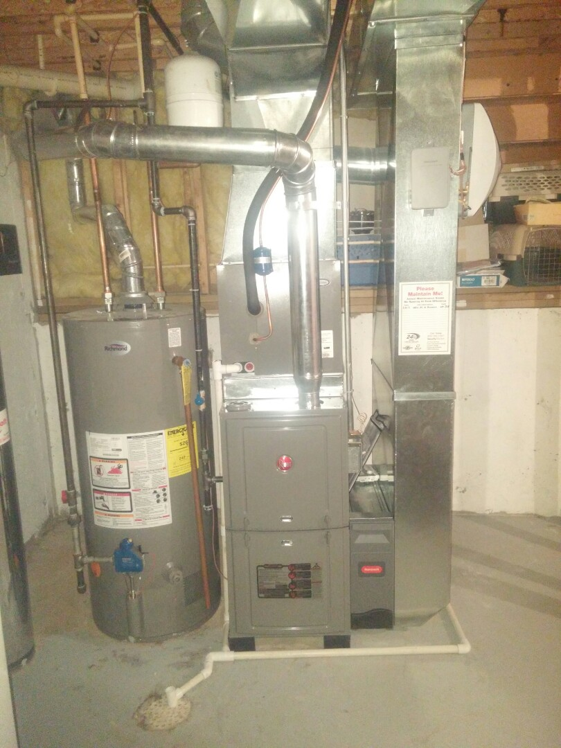 Beloit, WI - Install new furnace and a.c.