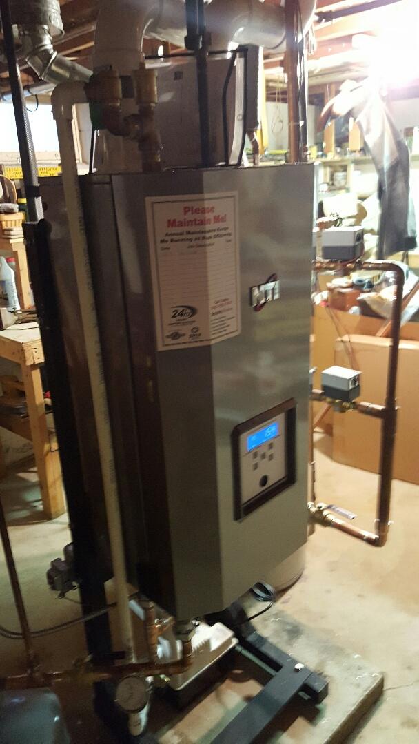 Horicon, WI - New nti boiler
