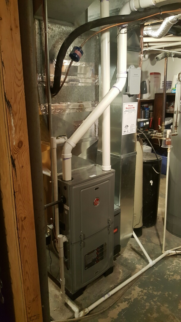 Sun Prairie, WI - Furnace and humidifier