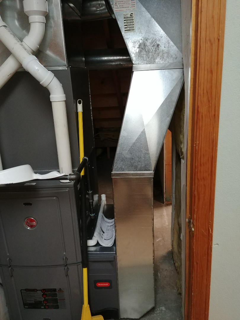 Milton, WI - Insall new furnace and a.c. units