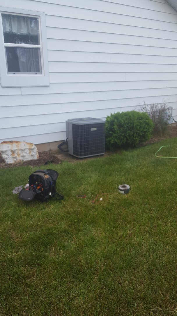 McHenry, IL - Emergency service call back up and running! Obsolete parts don't stop us!