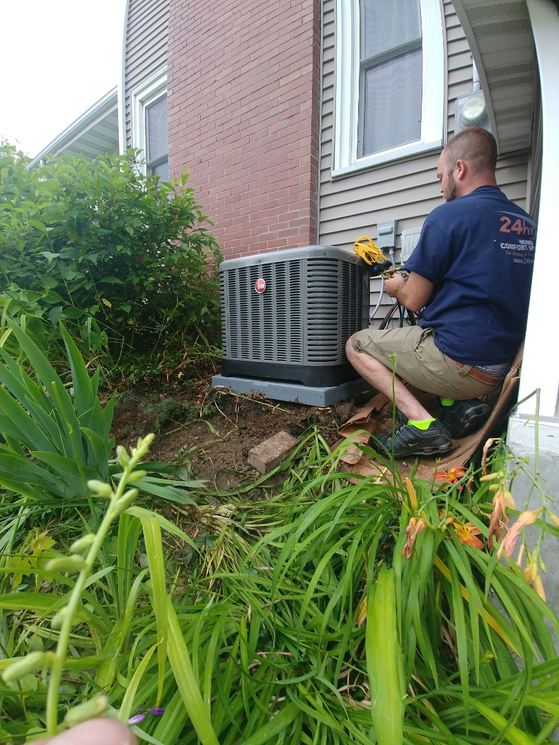 Beloit, WI - Install new furnace and a.c. unit