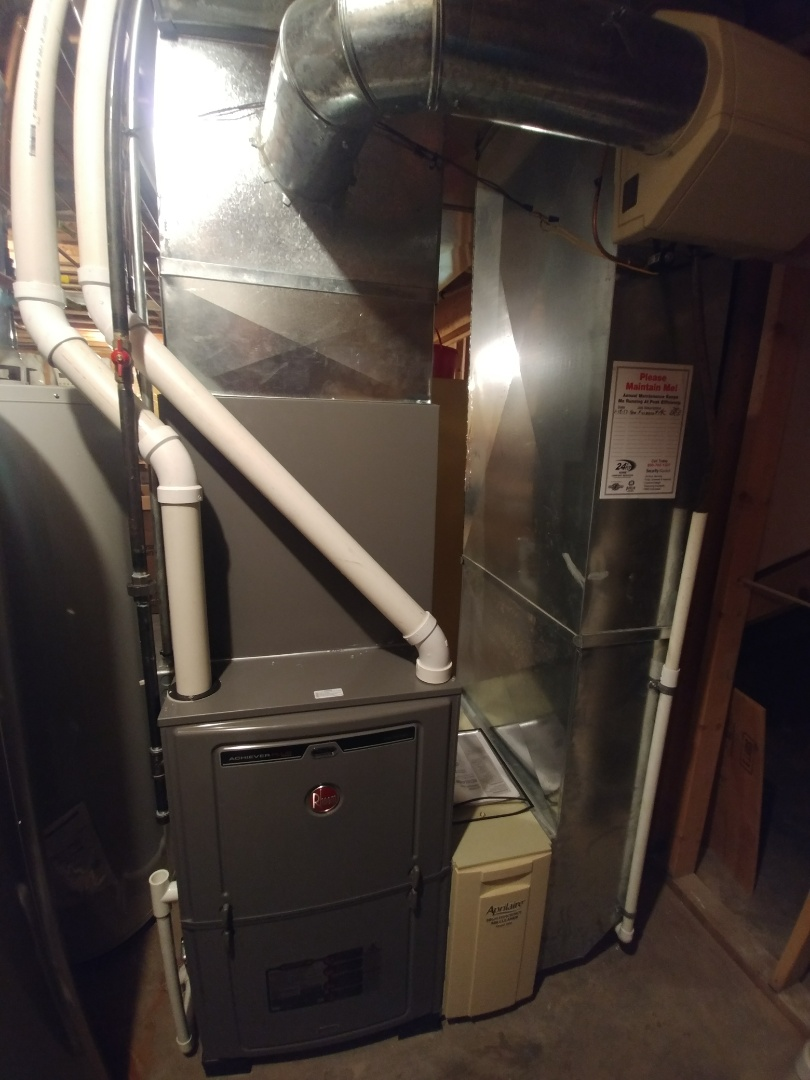 Janesville, WI - Install new furnace and a.c. and humidifier