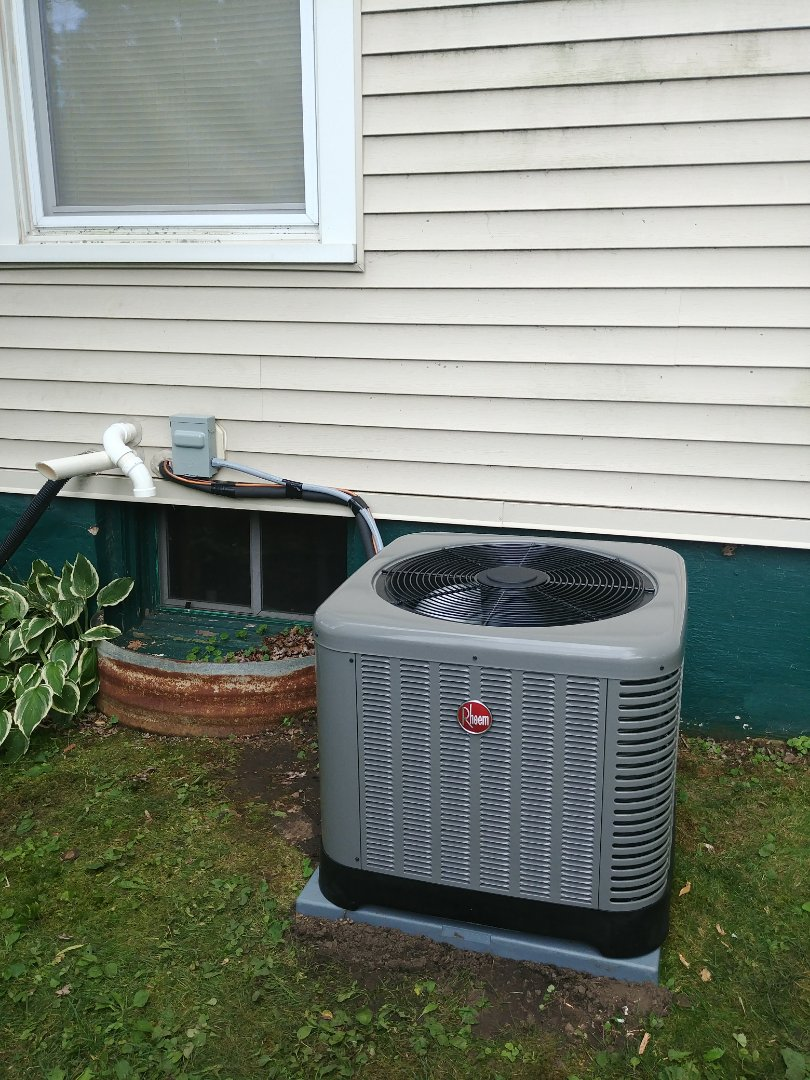 Beaver Dam, WI - Install new furnace and a.c. and humidifier