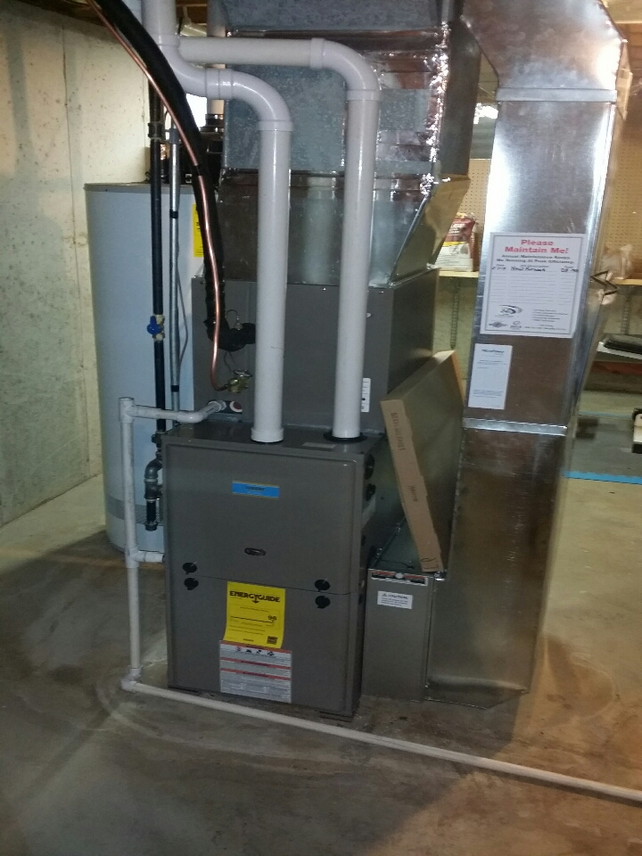 Elgin, IL - furnace & ac installation