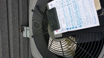 Lake Barrington, IL - No cooling. Ac repair found bad capacitor and motor should be replaced.