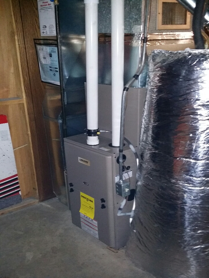Mineral Point, WI - New a/c & furnace