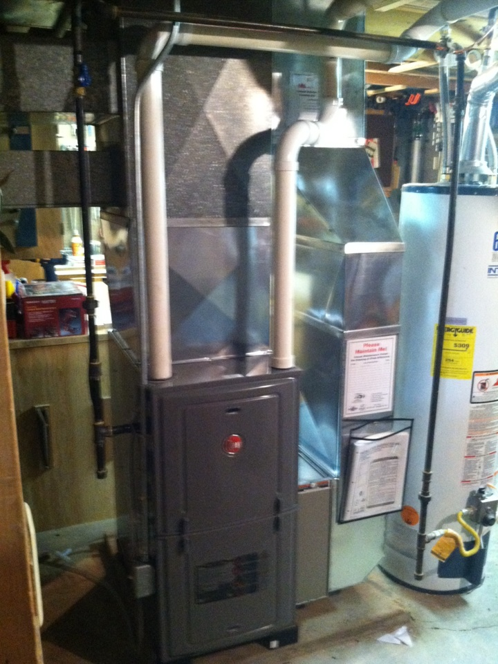 Winneconne, WI - New furnace install