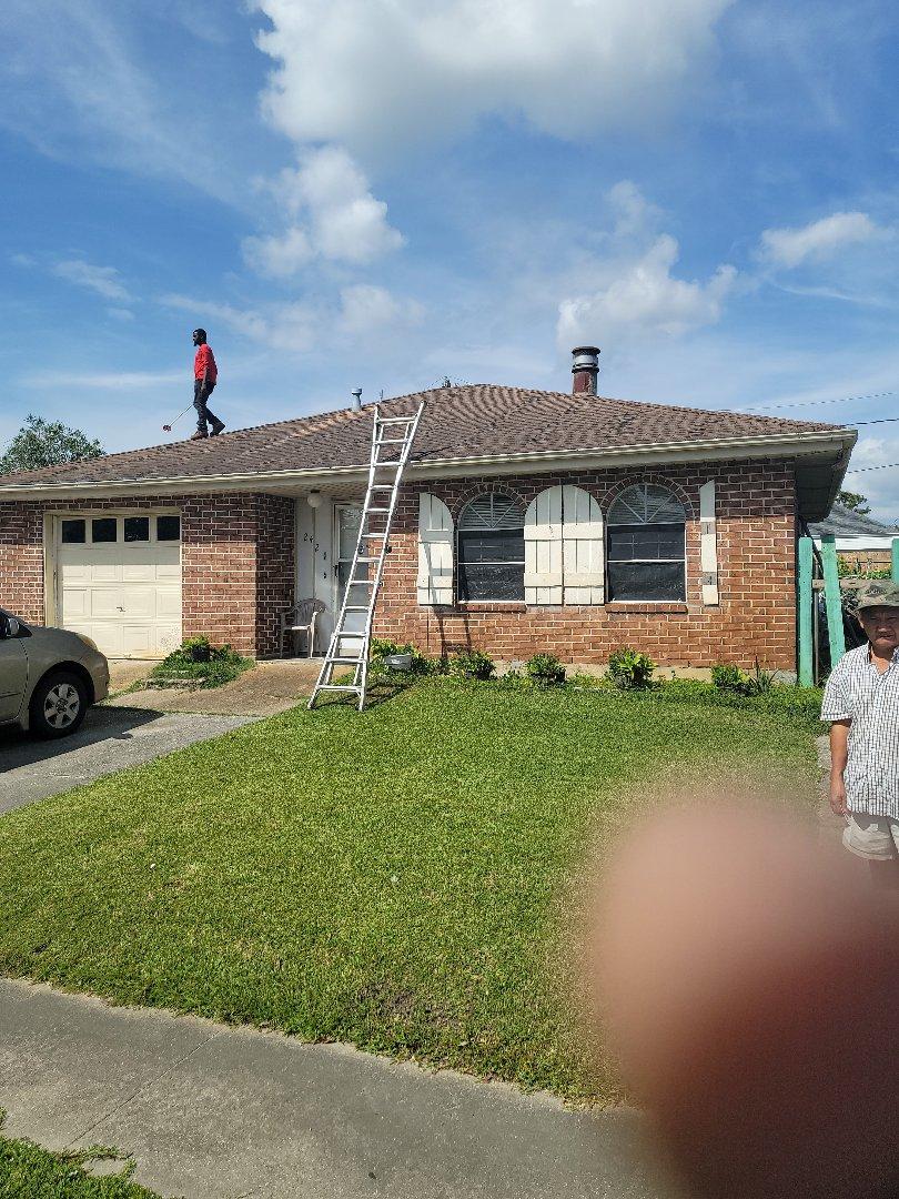 Kenner, LA - Roof estimate