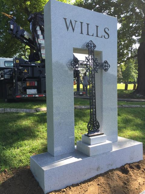 Memphis, TN - The Wills Family headstone is located in Historic Elmwood Cemetery - Memphis, TN