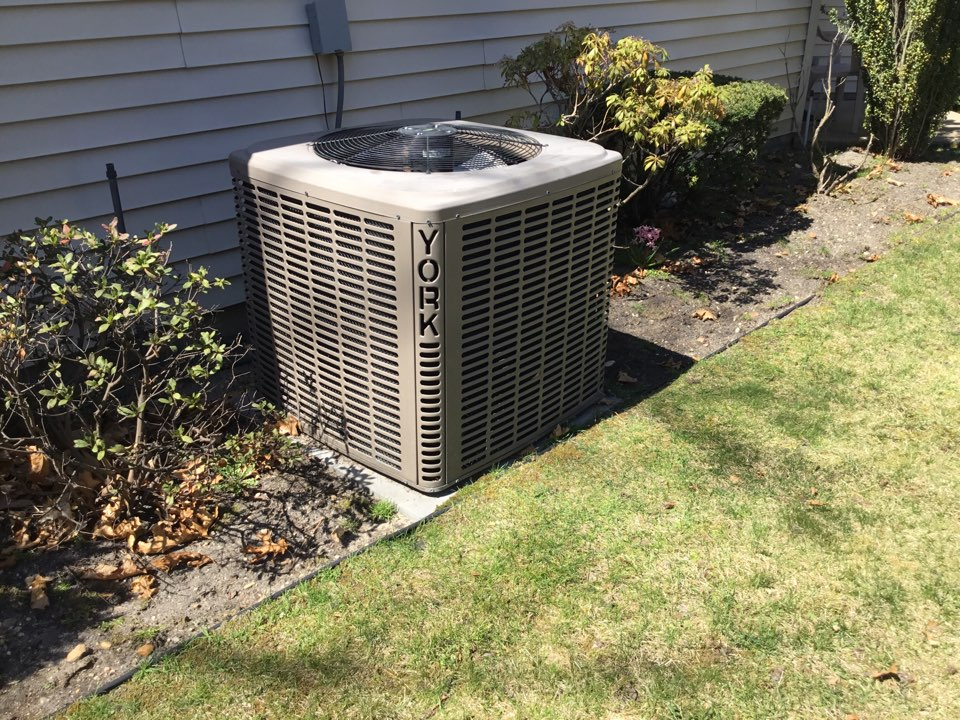 Holbrook, NY - Performed a spring inspection on a York split system in the town of Holbrook