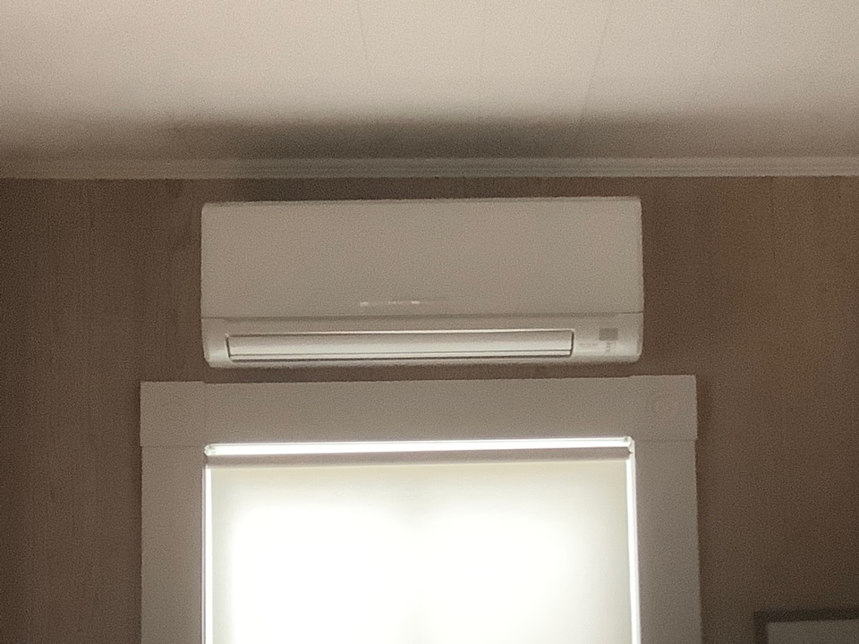 East Islip, NY - Performed maintenance on three Mitsubishi ductless systems in Fire Island