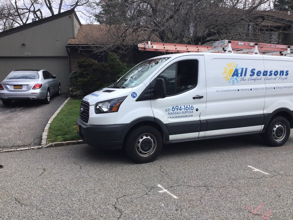 Jericho, NY - Air conditioning inspection