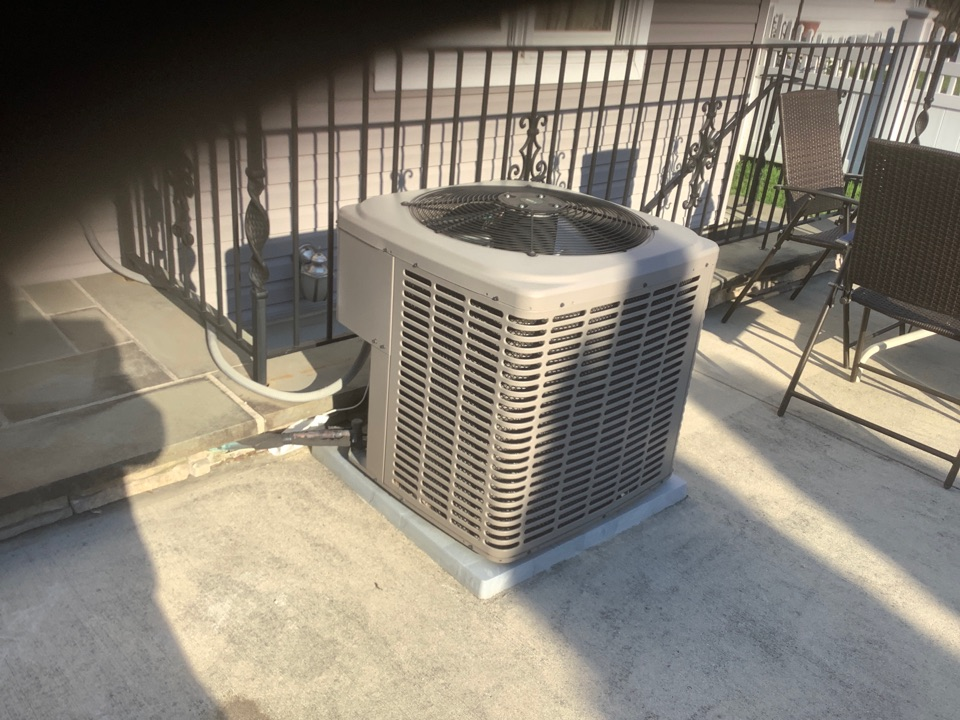 New Hyde Park, NY - Performed maintenance on one York split system in New Hyde Park